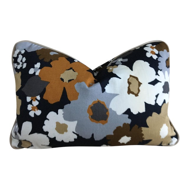 """Boho Chic """"The Hendrie"""" Lumbar Pillow For Sale"""