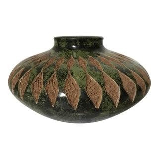 Darwin Calero Signed Pottery Vase