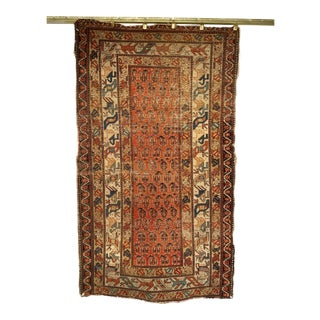 19th Century Kazak Rug 3′1″ × 5′6″ For Sale