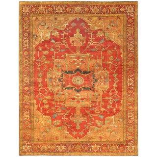 """Pasargad Serapi Collection Wool Rug - 8' 10"""" X 12' 0"""""""