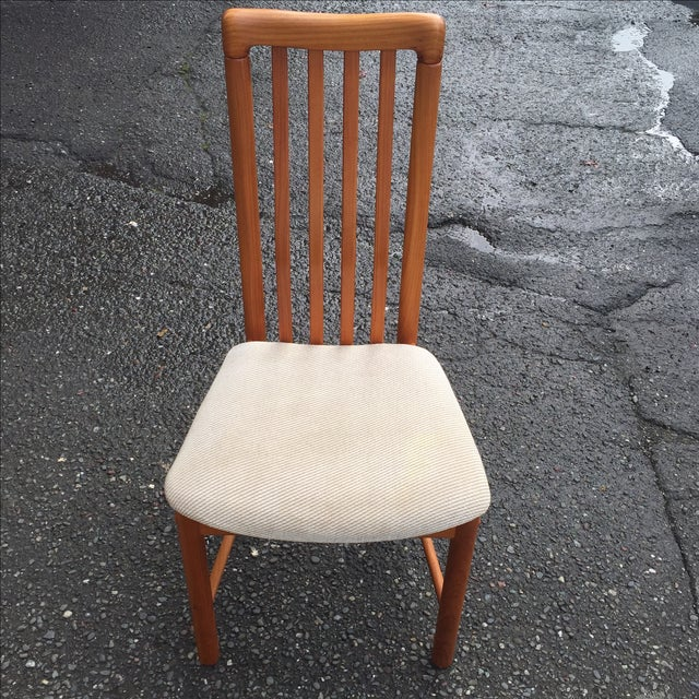 Teak Chairs by Benny Linden - Set of 6 - Image 4 of 11