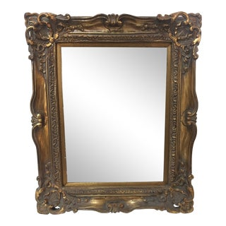 Wood and Gesso Gilt Frame For Sale