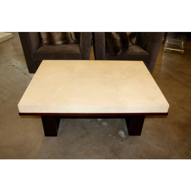 Beautiful Parchment Top Table by Christopher Kennedy For Sale - Image 10 of 10
