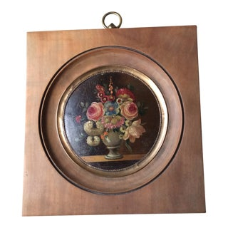 Early 20th Century French Still Life Oil Painting, Framed For Sale
