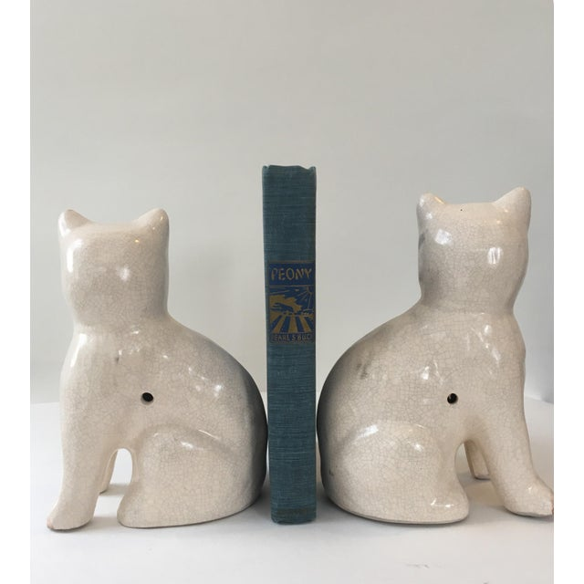 Staffordshire Cat Figurine - A Pair For Sale - Image 5 of 7