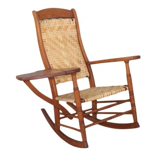 1930s Vintage Ranch House Rocking Chair For Sale