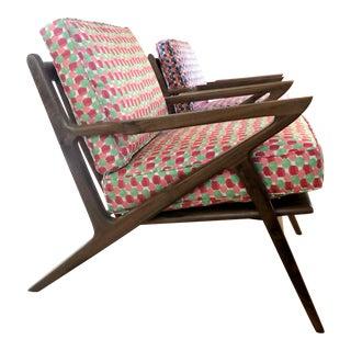 Mid-Century Modern Danish Z Chair For Sale