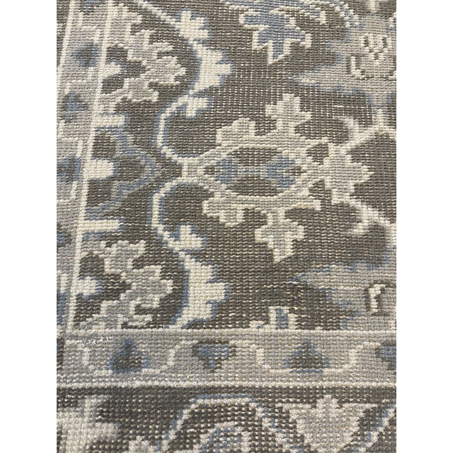 Transitional Transitional Mansour Quality Handwoven Wool Rug - 8' X 10' For Sale - Image 3 of 5