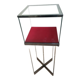 Modern Lucite Display Case For Sale