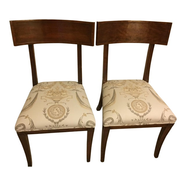 Klismos Chairs - A Pair - Image 1 of 4