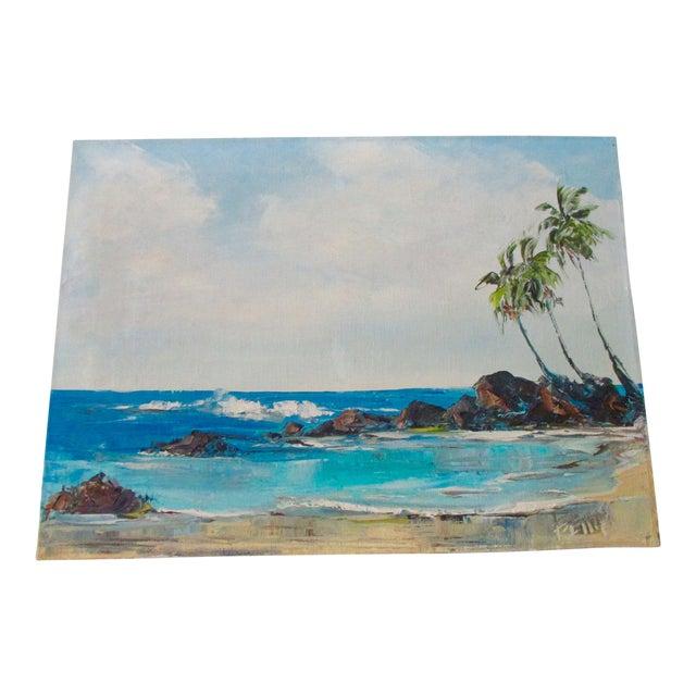 California Plein Air Seascape Painting - Image 1 of 9
