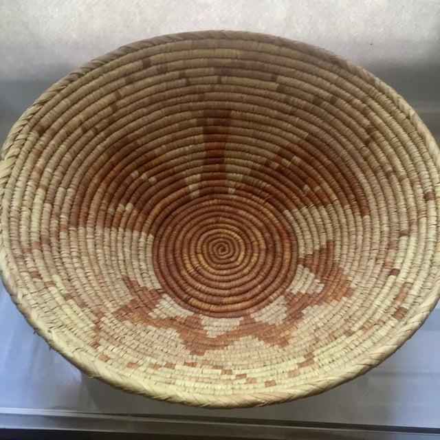 Vintage Native American Apache Pima Coil Basket - Image 10 of 11