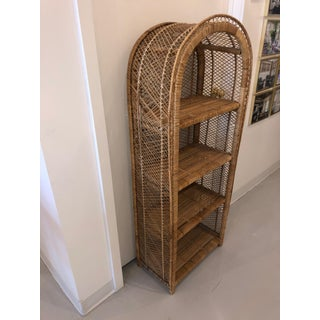 20th Century Boho Chic Wicker Shelf Preview