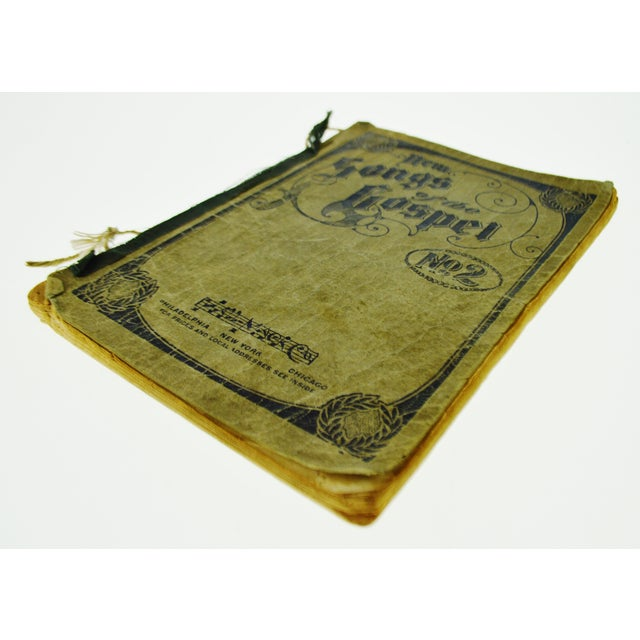 Traditional An Antique Printing of '1905 New Songs of the Gospel No. 2' Book For Sale - Image 3 of 11