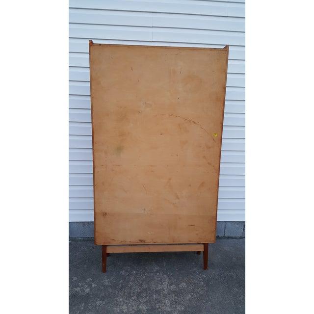 Danish Modern 1960s Danish Modern Graduated Teak Bookcase Shelf For Sale - Image 3 of 12