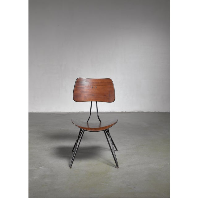 RIMA Gio Ponti Du10 Chair for Rima, Italy, 1950s For Sale - Image 4 of 5