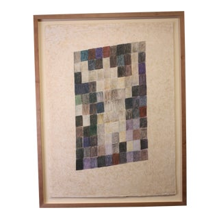 "1970s Vintage Man Ray ""Tapestry"" Lithograph Print For Sale"