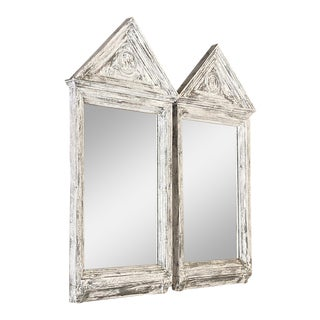 Painted Greek Revival Mirrors Ca. 1860s - a Pair For Sale