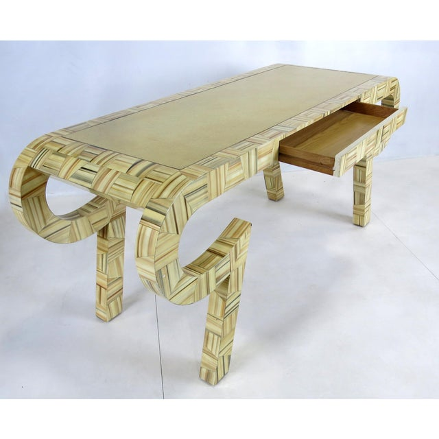 Sculptural Console or Desk For Sale - Image 4 of 5