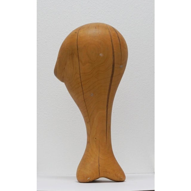 Danish Modern Wood Sculpture by Candace Knapp For Sale - Image 3 of 9