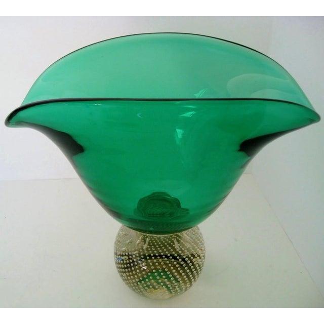 Vintage Erickson Glass Vase - Image 4 of 6