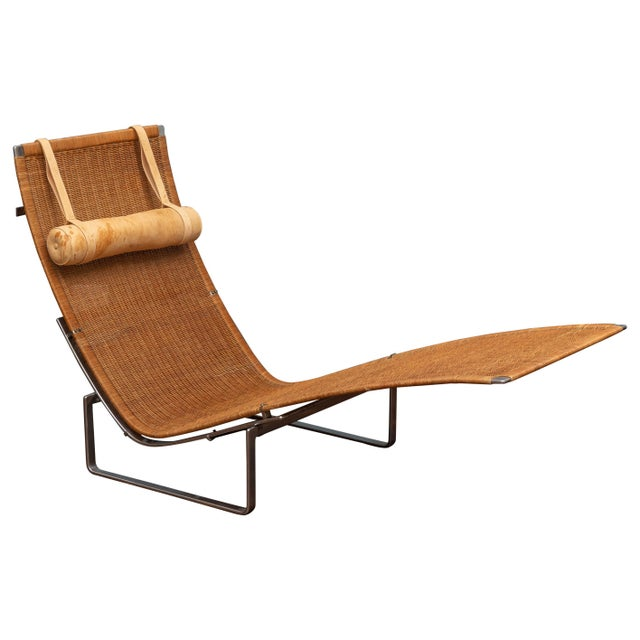 Poul Kjaerholm PK24 Chaise Lounge For Sale - Image 13 of 13