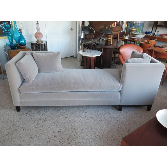 Modern Mid-Century Harvey Probber Tete-A-Tete Gray Sofa For Sale In Tampa - Image 6 of 7