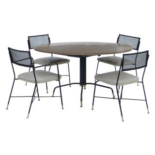 5-Piece Troy Sunshade Company Dining Set For Sale