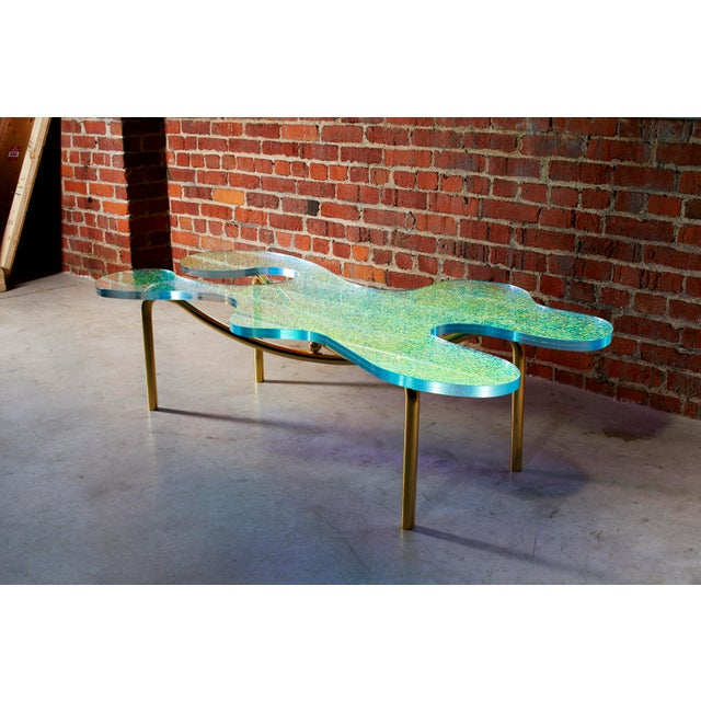 Troy Smith Designs Picasso Coffee Table by Artist Troy Smith - Contemporary Design - Artist Proof - Limited Edition For Sale - Image 4 of 7