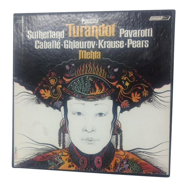 "1st Edition : ""Puccini Turandot Opera Boxed Set - 8 Pc. For Sale"
