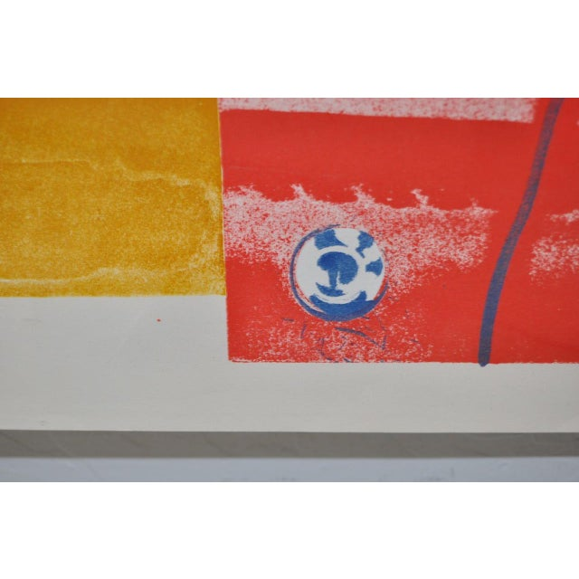 """1960s Vintage """"Roll Down"""" Color Lithograph by James Rosenquist For Sale - Image 5 of 7"""