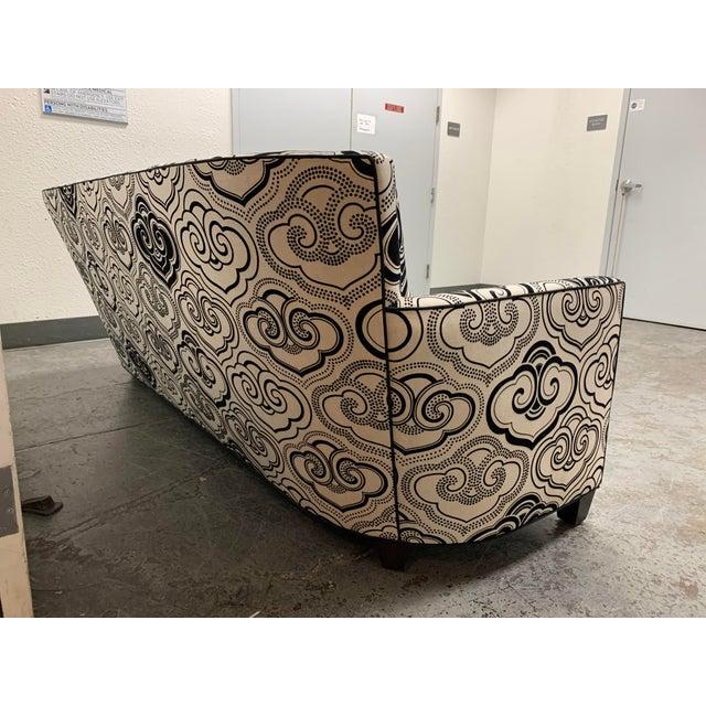 2010s A. Rudin Osborne & Little Fabric Custom #2612 Sofa For Sale - Image 5 of 12