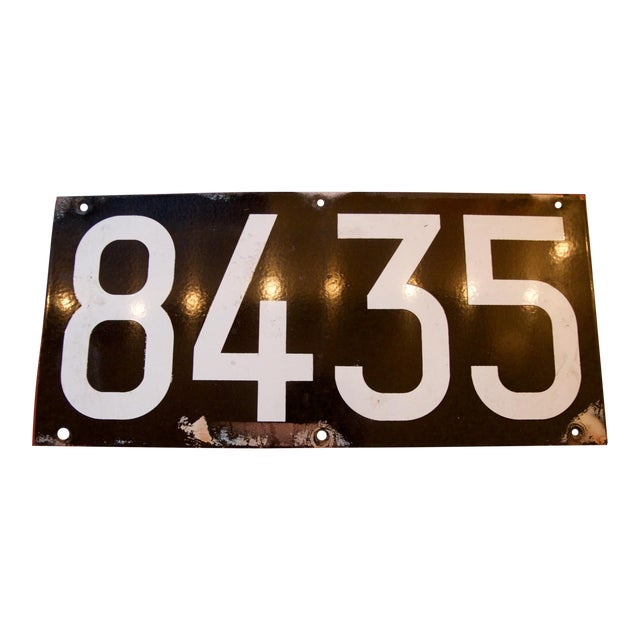 Enamel NYC Subway Plate from The Warriors Movie - Image 1 of 8