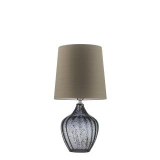 Vivienne Medium Smoke Table Lamp For Sale