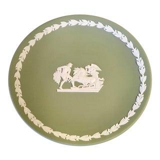 1980s Vintage Wedgwood Mr Jasperware Decorative Plate For Sale