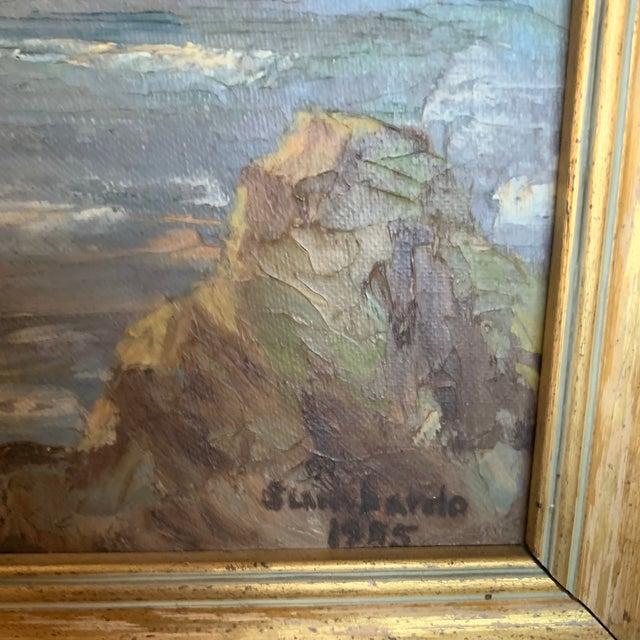 Impressionist Oregon Coast Sunset Painting For Sale - Image 3 of 9