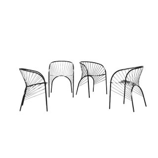 1984 Paolo Pallucco 'Lizie' Chairs - Set of 4