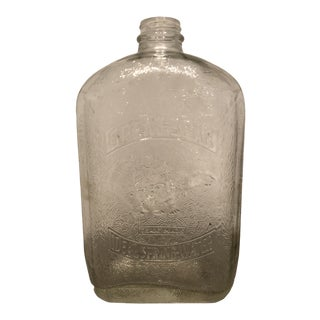 Early 20th Century Great Bear Spring Water Bottle For Sale