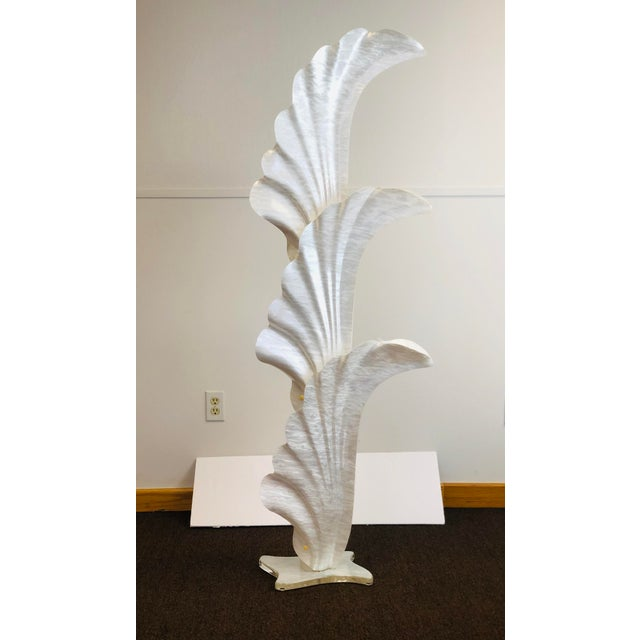 1970s Rougier Acrylic Floor Lamp For Sale In Detroit - Image 6 of 7