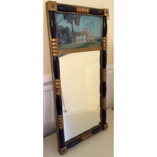 Antique Sheraton Federalist Style Mirror of Washington's Mount Vernon - Image 2 of 8