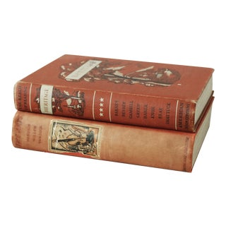 Vintage Art and Literature Books - a Pair For Sale
