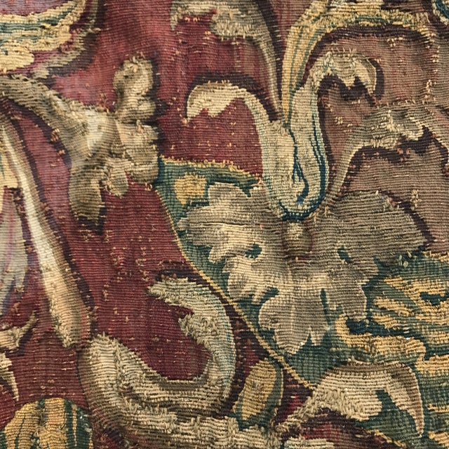 17th Century Tapestry Fragment - Image 3 of 4
