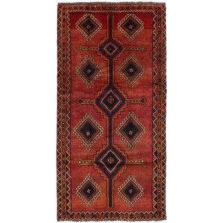 """Shiraz Qashqai Persian Rug, 4'9"""" x 9'6"""""""