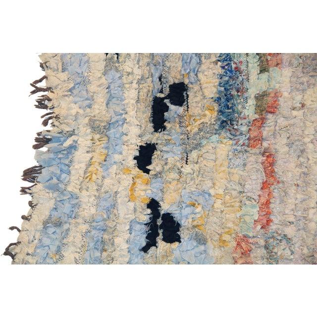 Vintage Boucherouite Rug Rag - 3′8″ × 6′ - Image 2 of 3