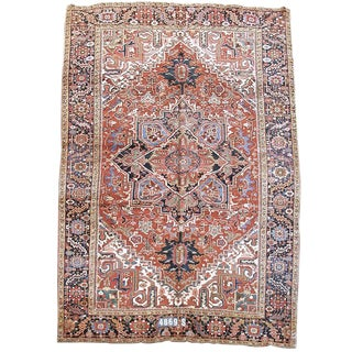 Heriz Persian Rug - 8′8″ × 12′ For Sale