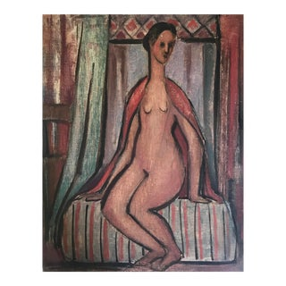 Mid-Century Figurative Painting For Sale