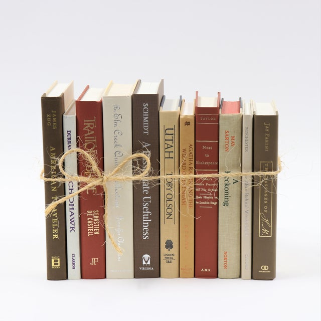 Contemporary Warm Spice Book Bundle For Sale - Image 3 of 4