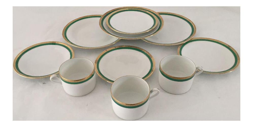 Italian Fine China \ Richard Ginori\  Dinnerware - 10 Pcs Set  sc 1 st  Chairish & Italian Fine China \