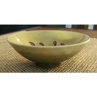 Mid 20th Century Moorcroft Yellow Footed Bowl in Columbine Pattern Preview