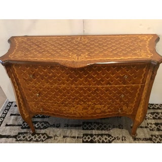 Vintage Italian Marquetry Chest of Drawers Preview